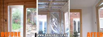SUMMERHOUSE TO HOME OFFICE CONVERSION