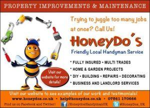 HoneyDo's Handyman Service - Fleet, Hampshire