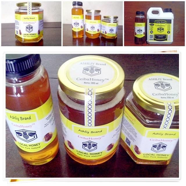 Produk Madu CeibaHoney ASHLIY Brand