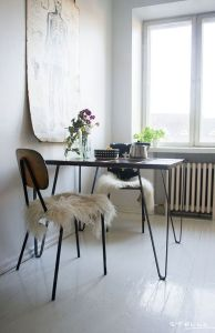 table type industrielle hair pin legs