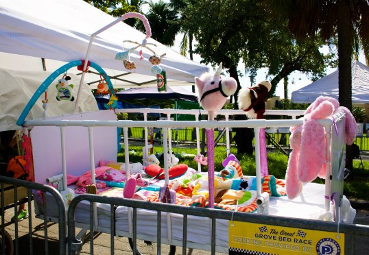 Fun time for all (even infants!) - The 6th Annual Great Grove Race - Miami, 2014