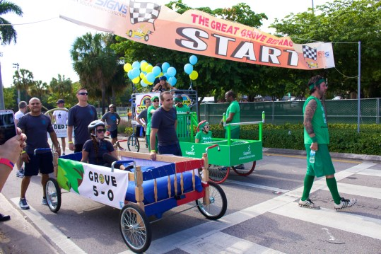 The 6th Annual Great Grove Race - Miami, 2014