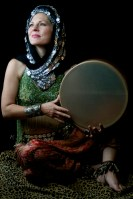 Lavender Grace with Frame Drum 2010