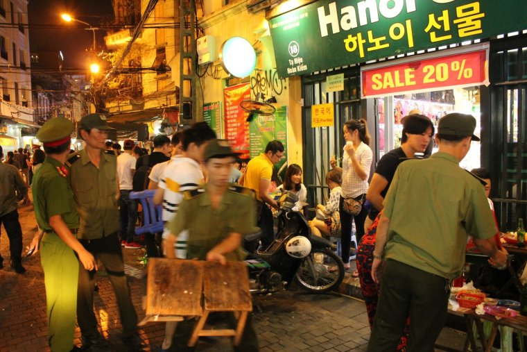 police hanoi shutdown