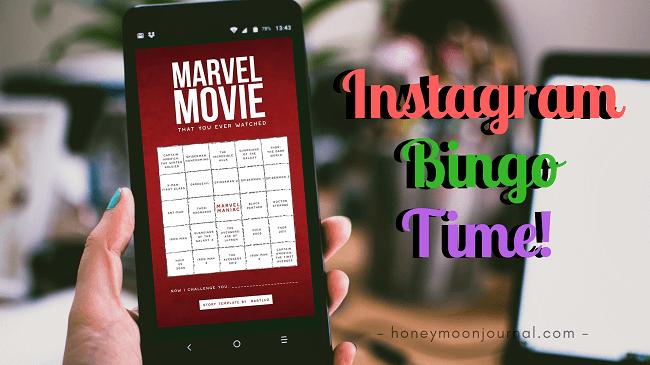 instagram bingo Ide Kegiatan Hits Saat #dirumahaja