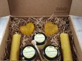 Подарочный набор с мёдом «Романтический вечер 2» (женский)