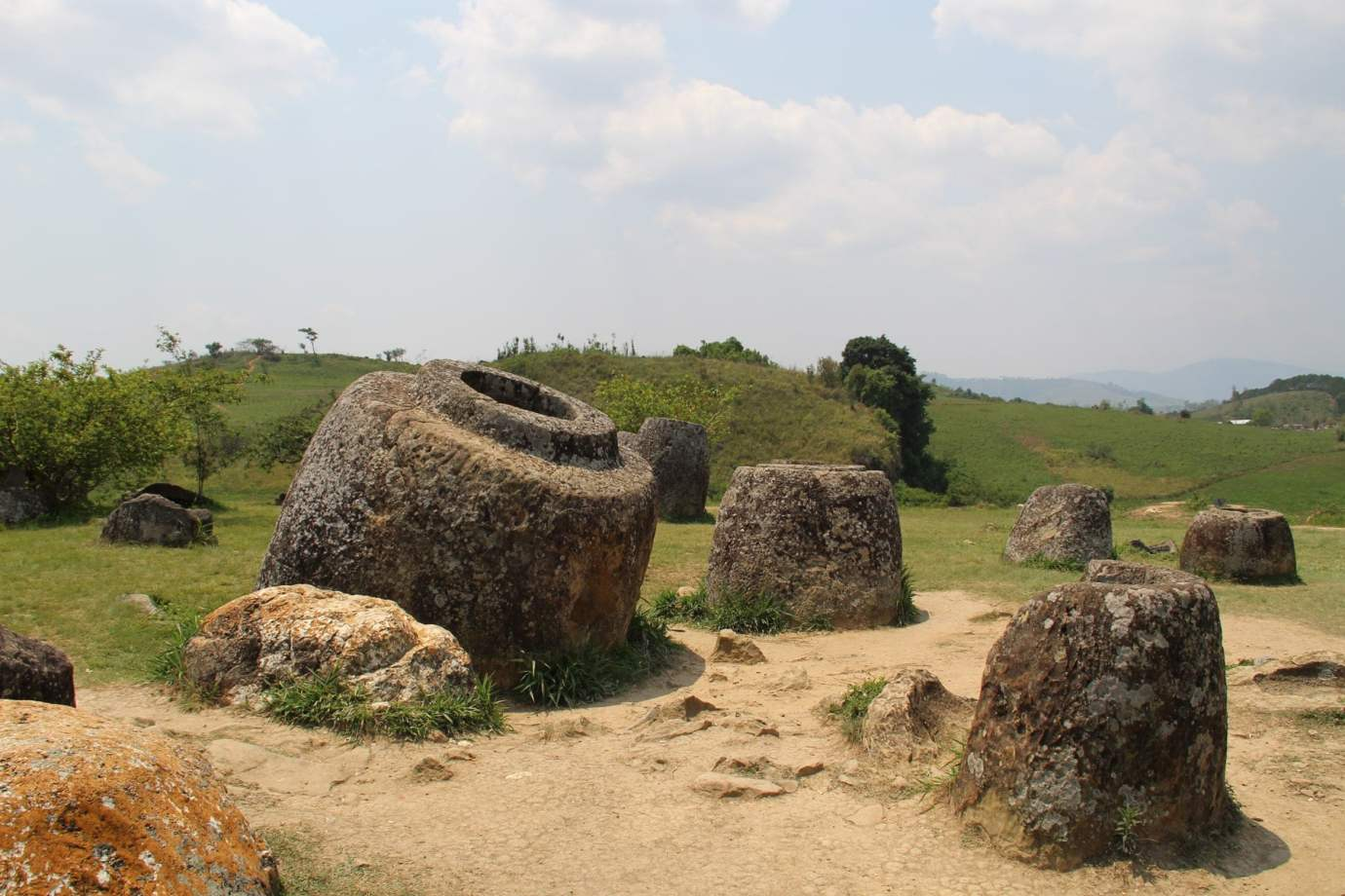 Jars in Jar Site 1 Phonsavan