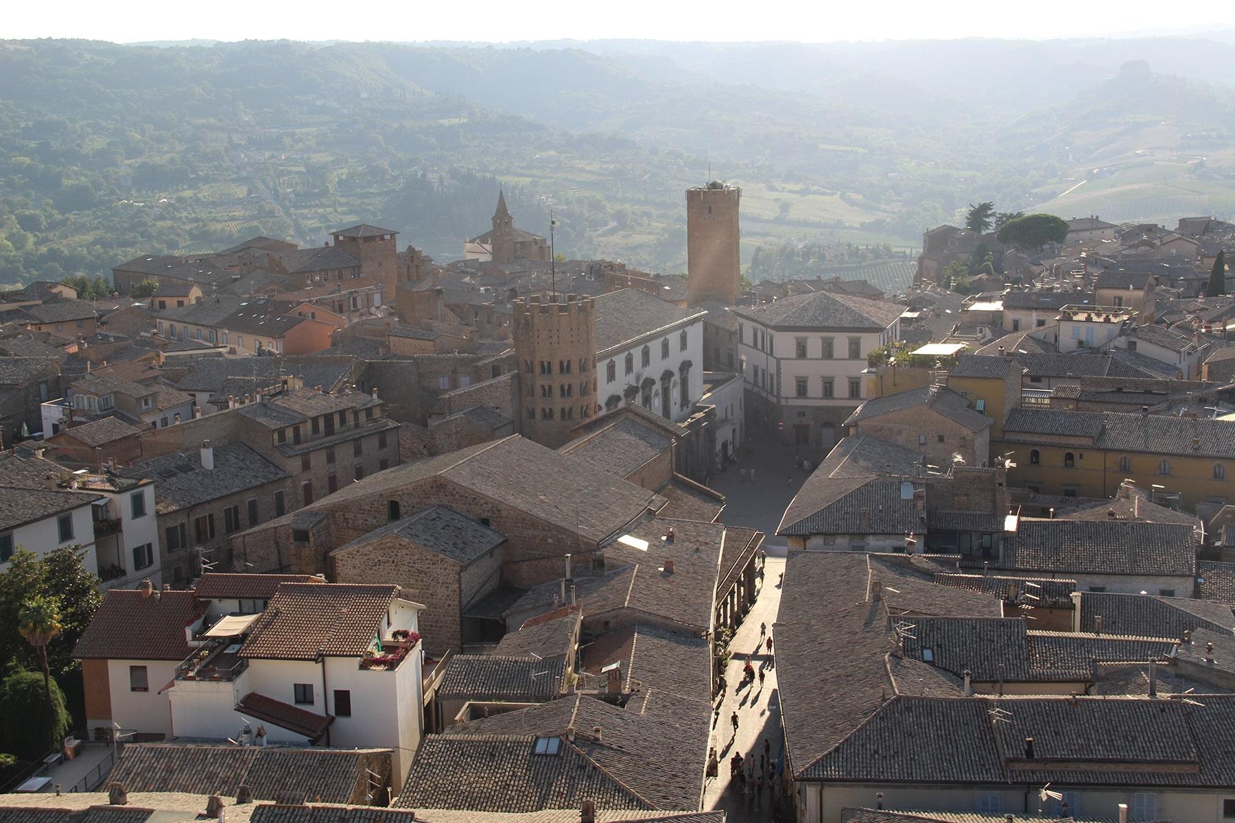 View on city of Orvieto