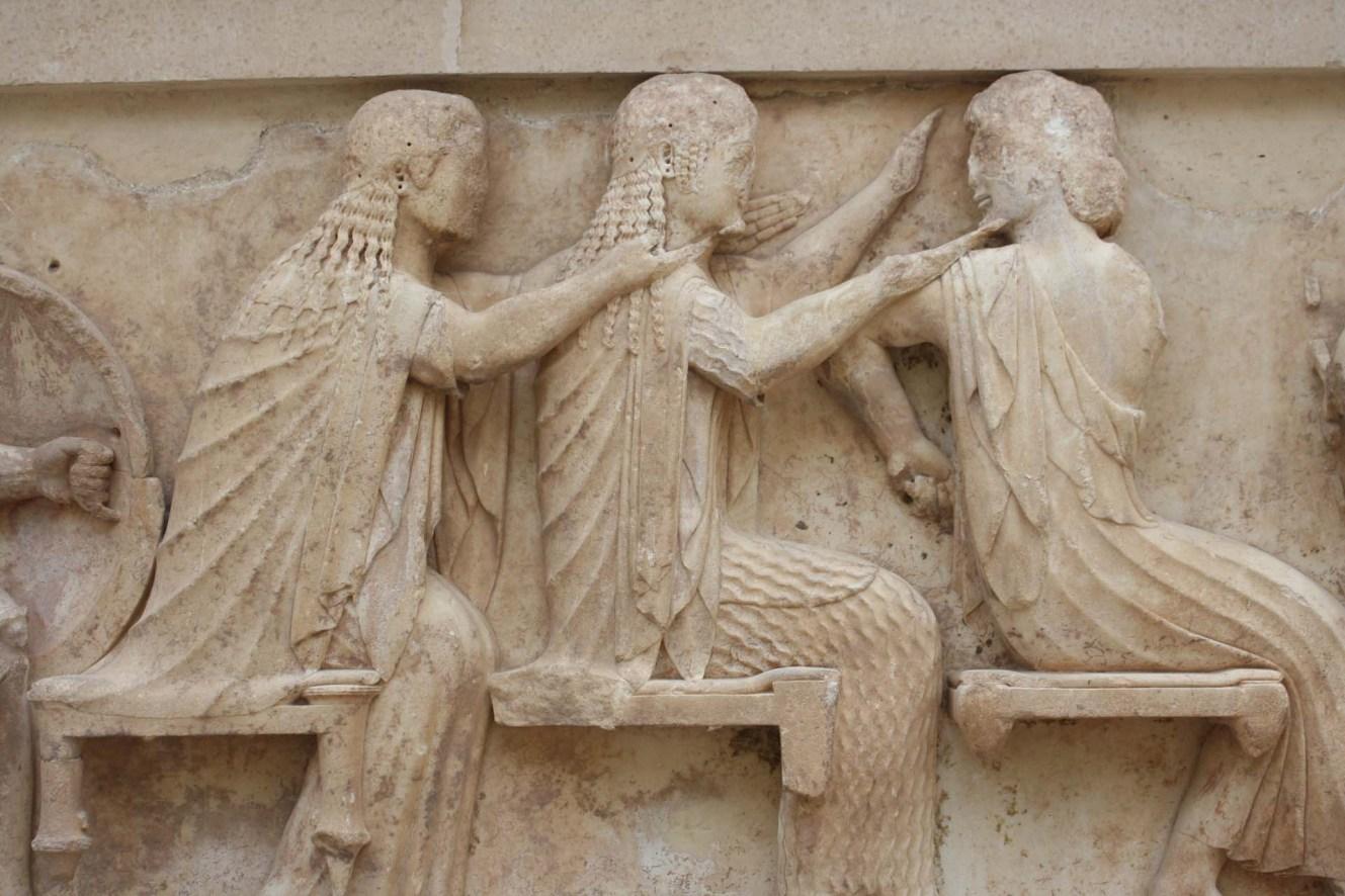 Frise du trésor de Siphnos Musée de Delphes