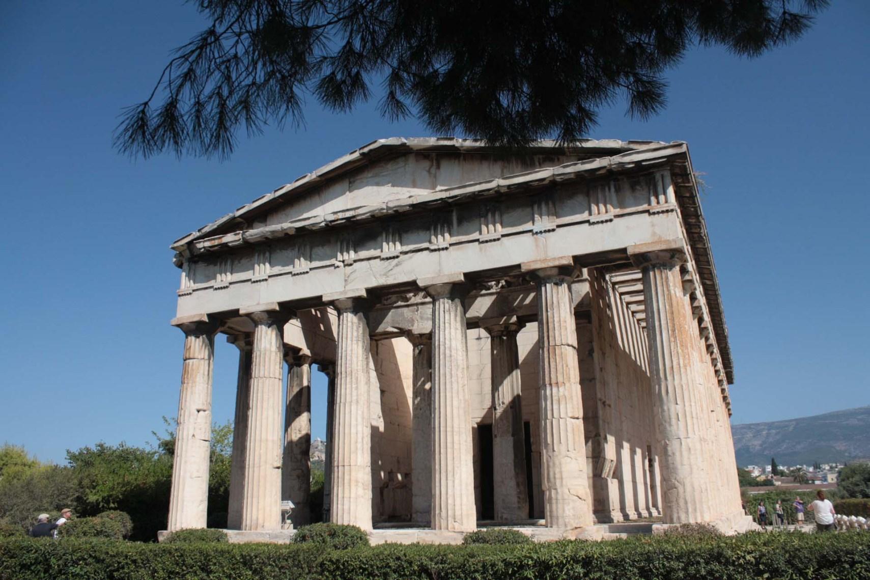 Temple d'Héphaïstos dans l'Agora d'Athènes