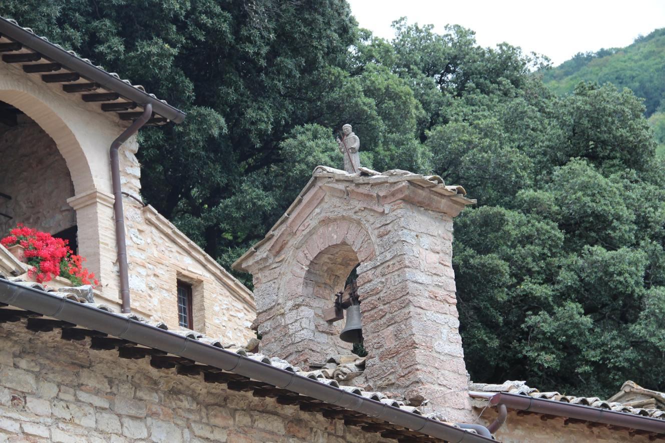 Bell church Eremo delle carceri hermitage Assisi