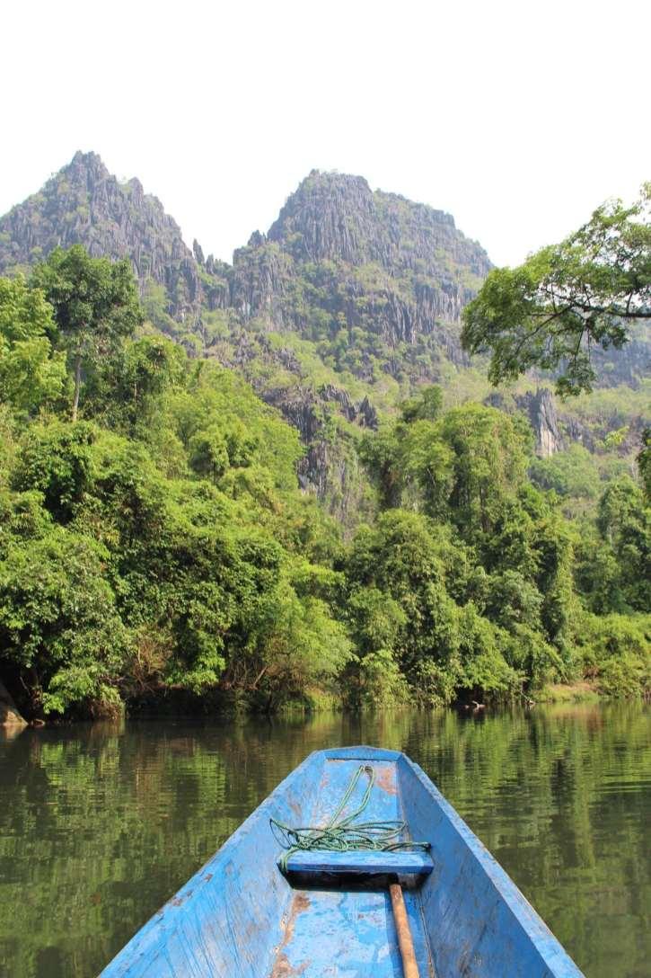 Tham Kong Lor boat trip Thakek loop