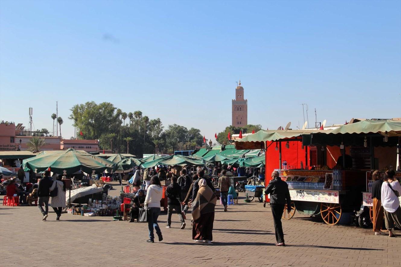 Marrakech's Jemaa el Fnaa square