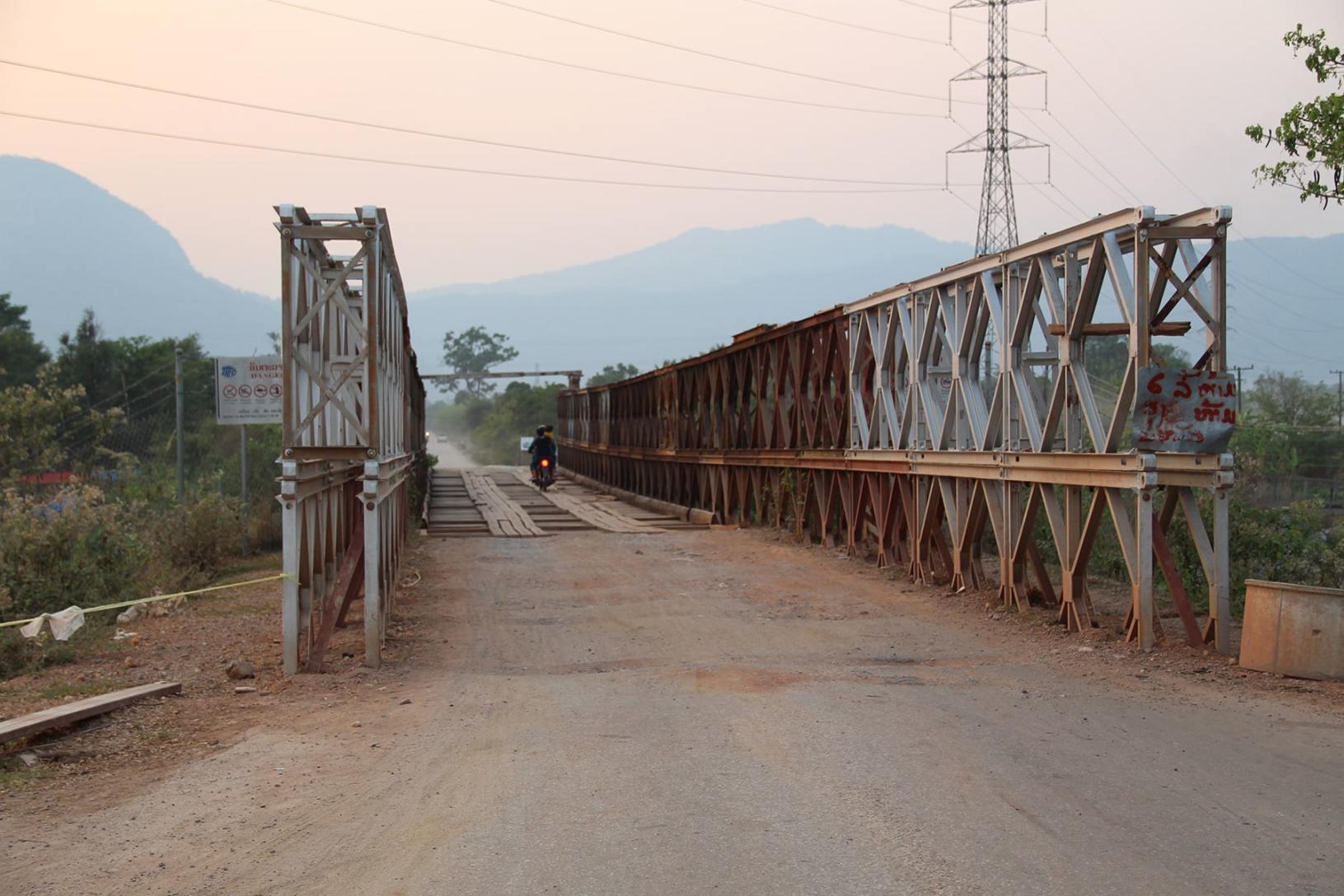 Il ponte sul loop di Thakek