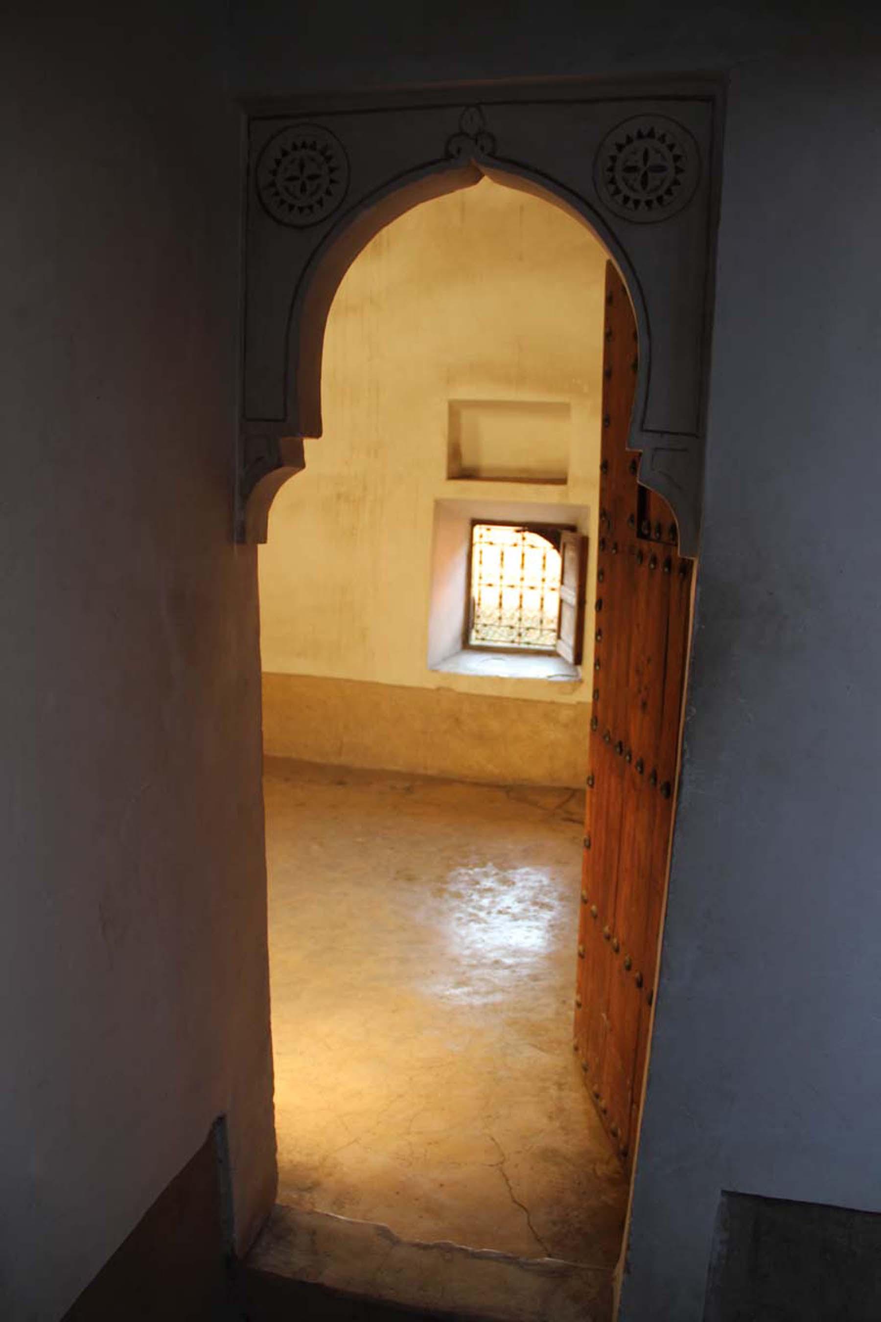 Student dorm in the Ben Youssef Madrasa in Marrakech
