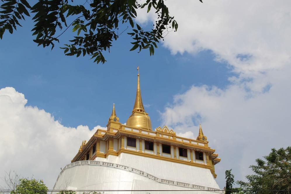 Tempio della Montagna d'oro o Wat Saket, Bangkok