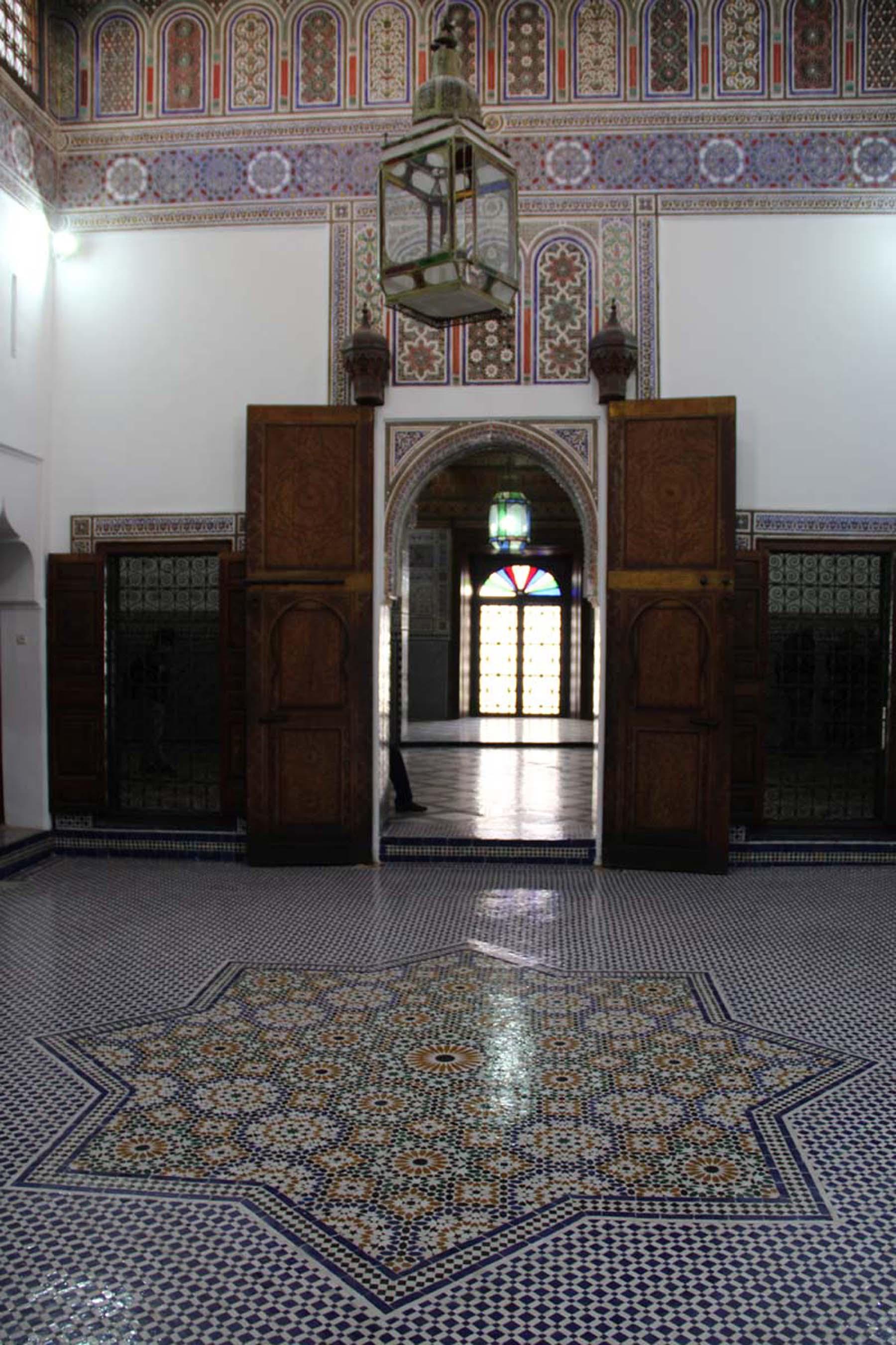 Marrakech Dar Si Said nuptial room