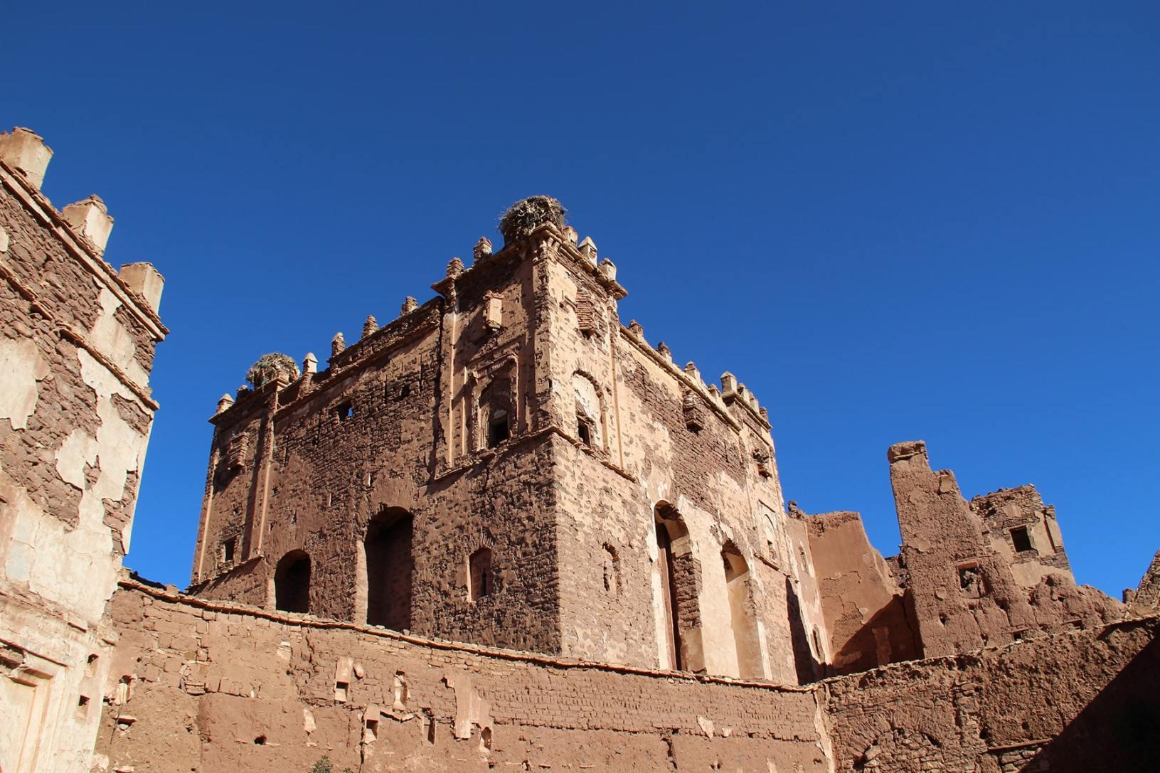 L'esterno della kasbah di Telouet