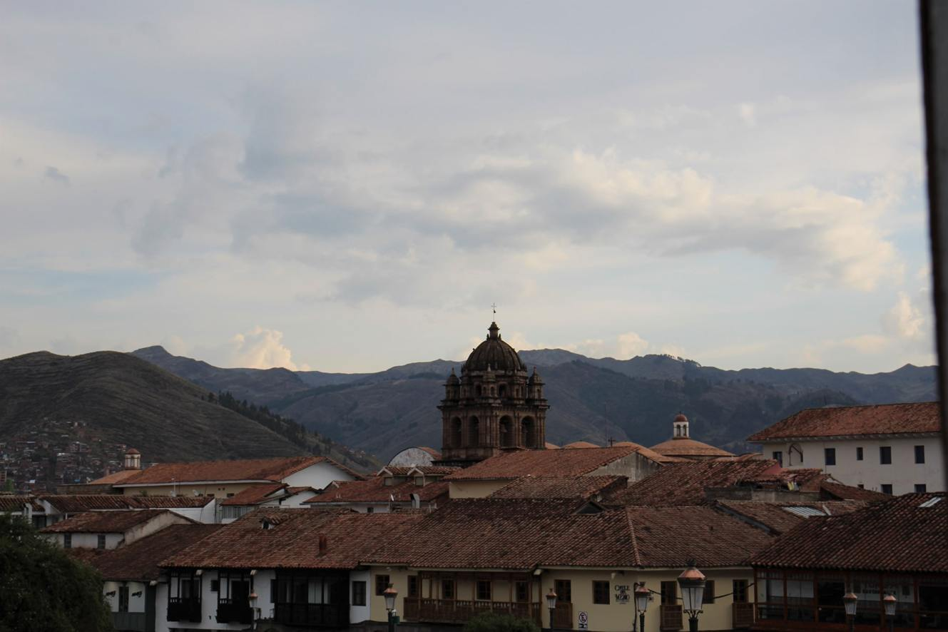Cuzco towerbell and roofs