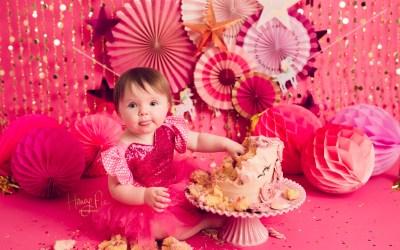 Brighton Cake Smash Photographer | Kyra 1st birthday