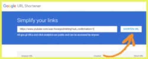 paste your long url into this site to shorten your url