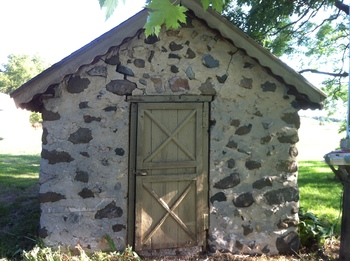 Late 1800s smoke house