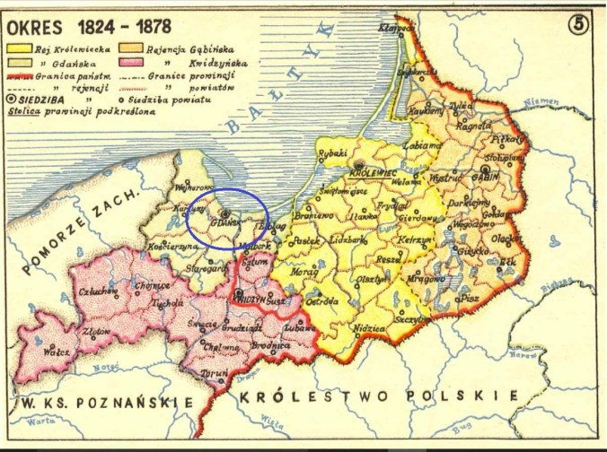gdansk poland map
