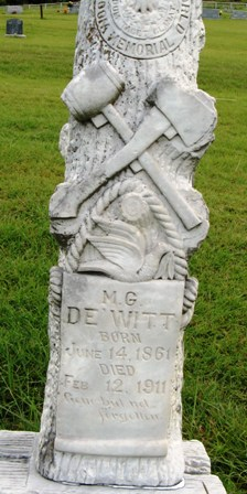milo dewitt's head stone