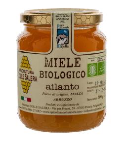 Honey the Brave - Apicoltura Colle Salera - Barattolo Miele Ailanto