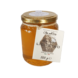 Honey the Brave - Azienda Apistica L'Ape nell'Orto - Barattolo Miele Ligustro