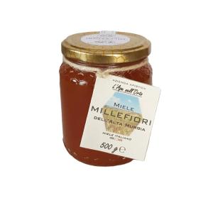 Honey the Brave - Azienda Apistica L'Ape nell'Orto - Barattolo Miele Millefiori Alta Murgia