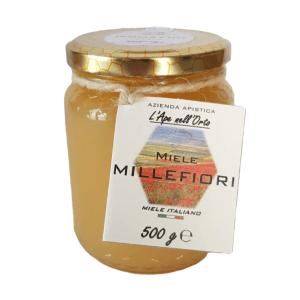 Honey the Brave - Azienda Apistica L'Ape nell'Orto - Barattolo Miele Millefiori