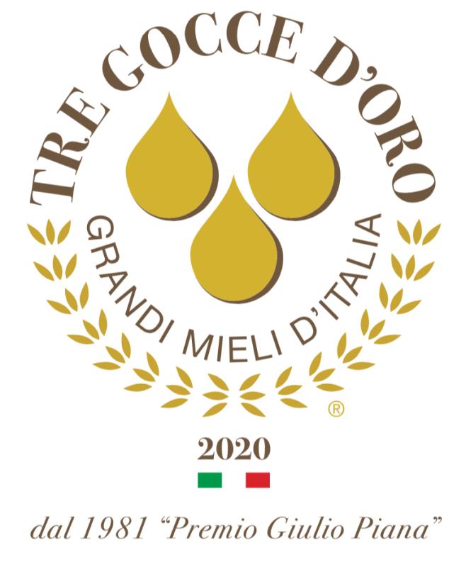 Honey the Brave - Logo Concorso Tre Gocce d'Oro 2020