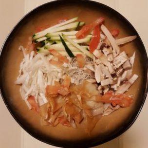 wonton soep zonder bouillon