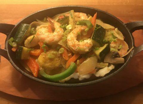 Gele curry zeevruchten (min 5 porties)