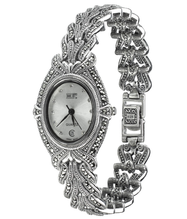Hottest 10 Marcasite Watches-HW104 1