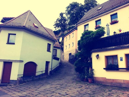 Hilly streets and cobble stones - So German