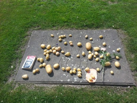 King Frederick the Great's grave