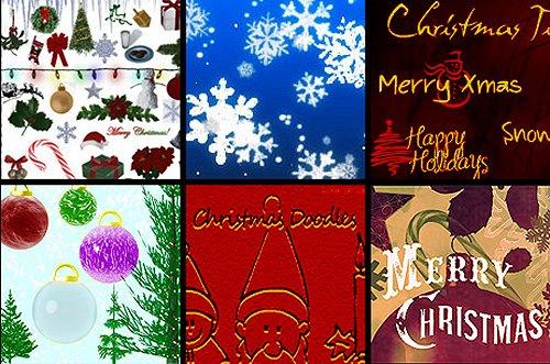 photoshoproadmap_Christmas_photoshop_brushes