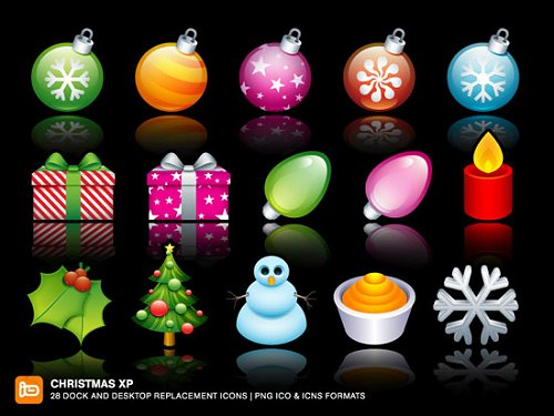 psdtop_Christmas_icons