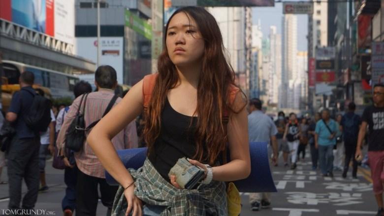 Mong Kok protestor