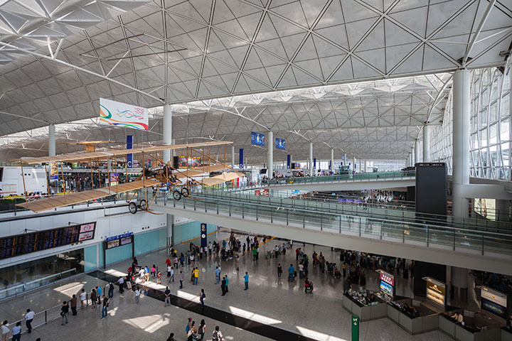 Hong Kong International Airport (via WikiCommons)