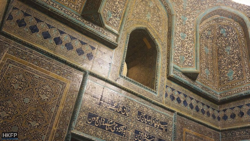 Khiva's Pahlavon Mahmud Mausoleum.
