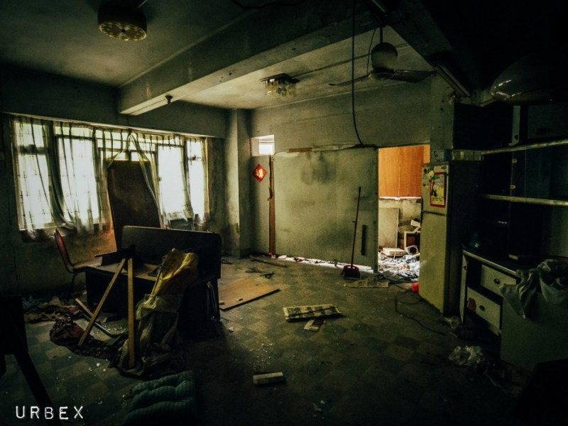 Exploring an abandoned 1960s property development