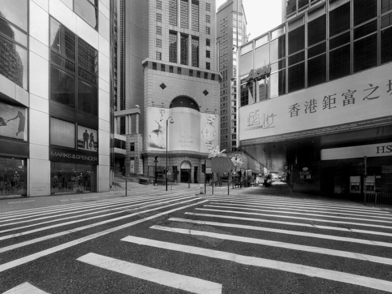 central humanless lifeless hong kong architecture building