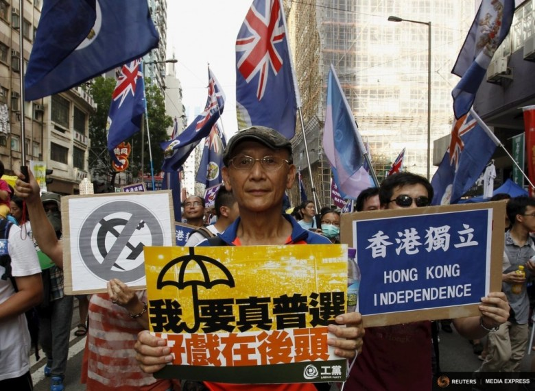 democracy protest july 1