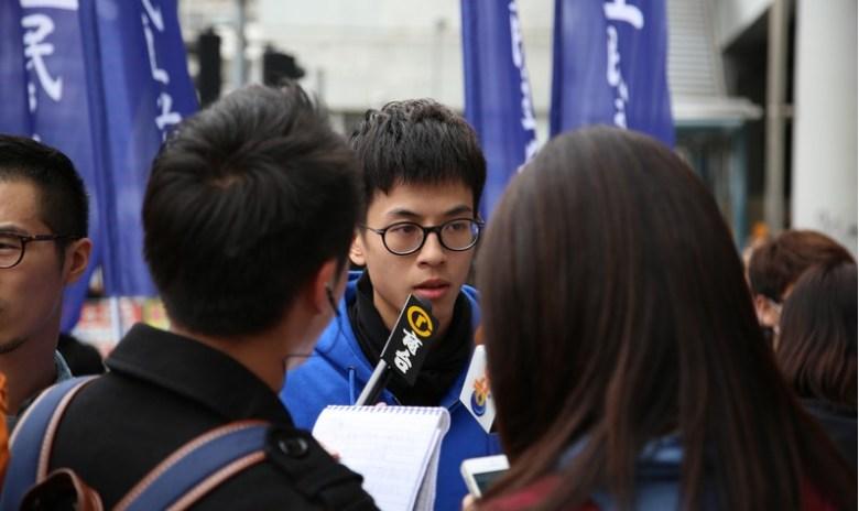 Ray Wong Yeung-toi of Hong Kong Indigenous. Photo: Wikimedia Commons.