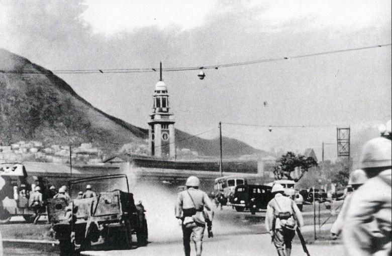 war of Hong Kong