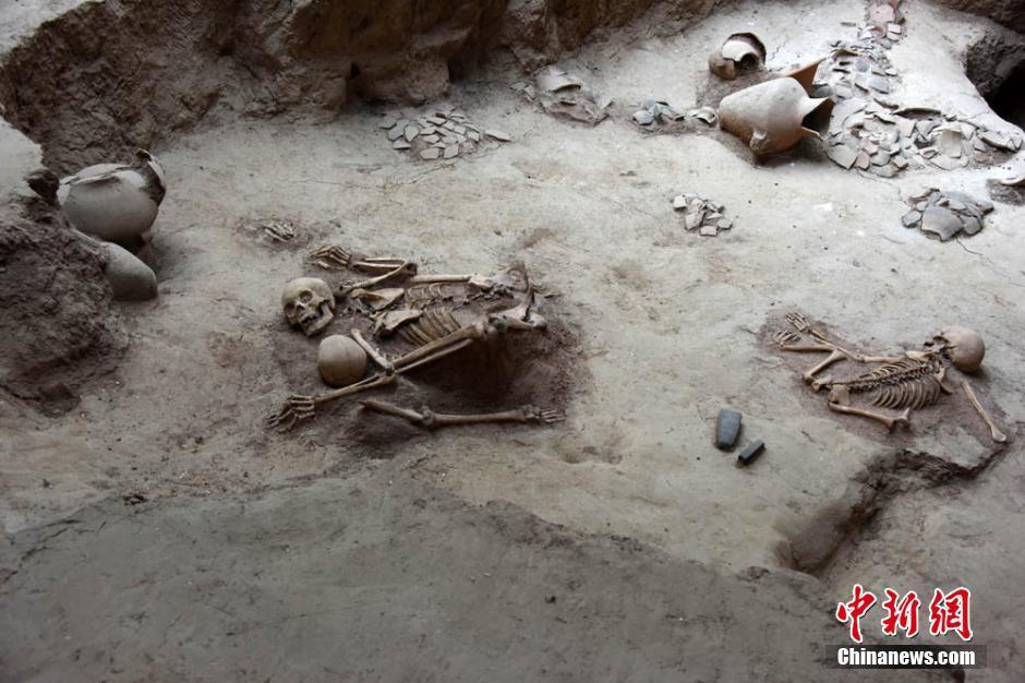 skeletal remains, qinghai, qijia