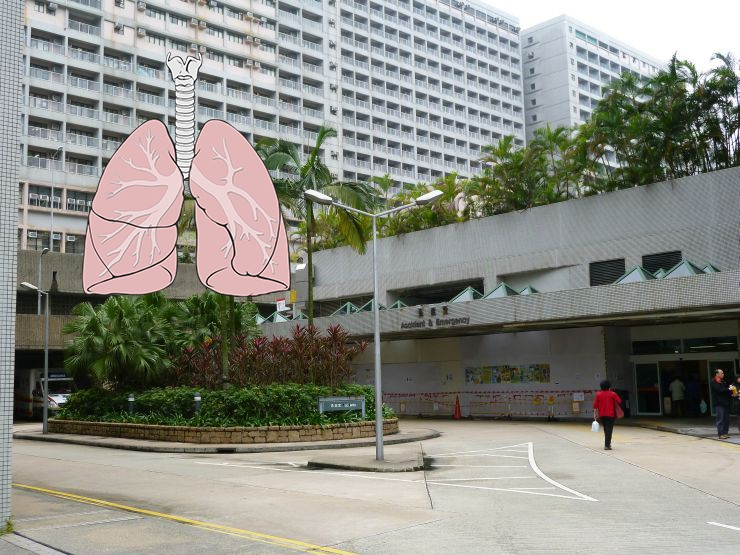 lung eastern hospital
